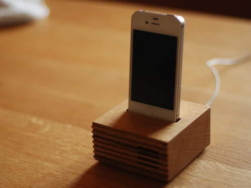 iPhone stand 002 [caracol]
